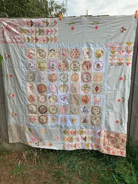 Fleur Quilt Workshop By Susan Smith Pincushion Pantiles