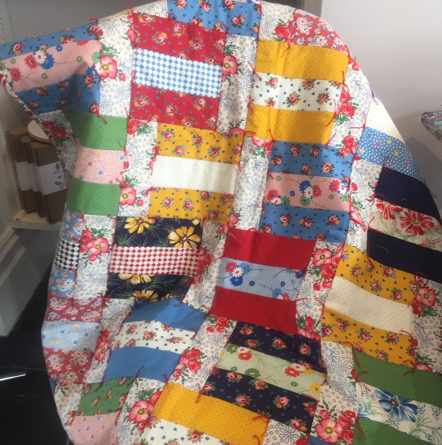 Patchwork Quilting Beginners Classes: Pincushion Pantiles