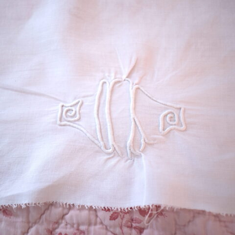 Monograms and Linen Sheets